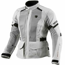 REV'IT! LEVANTE ladies mujer chaqueta textil de Motocicleta Touring - PLATA