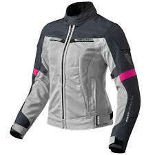 REV'IT! AIRWAVE 2 ladies mujer chaqueta textil de Motocicleta Touring - PLATA