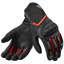 REV'IT! STRIKER 2 HOMMES Gant de moto cuir / TEXTILE TOURING - NOIR ROUGE