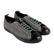 PF Flyers Todd Snyder Rambler Lo Mens Grey Nubuck Lace Up Sneakers Shoes