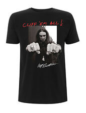 Metallica Cliff Burton Master of Puppets Licensed Tee T-Shirt Men