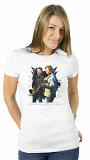 Ladies Supernatural Winchester Brothers Sam Dean Licensed TV Tee T-Shirt Womens