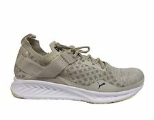PUMA Men's IGNITE evoKNIT Lo Pavement Trainers Shoes Oatmeal/Khaki 189926-0