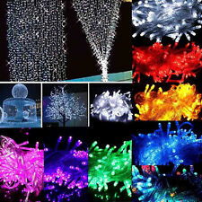 20/30/40/50/100 LED String Fairy Lights Battery Operated Party Room Decor zl
