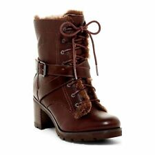 Ugg - Ingrid - Bottines fourrées en cuir - marron