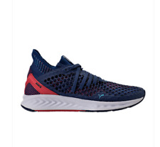 NEW Men's Puma Ignite NETFIT Running Shoes Blue Red White 19033901 f1 tsugi