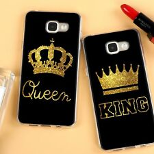 Luxury King Queen Shockproof Case Cover for Samsung Galaxy S8 S8+ S7 S6 Edge