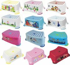 Solution STEP STOOL DISNEY CHARACTERS Baby/Toddler/Child Bath Time BNIP