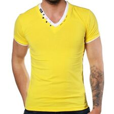 REDBRIDGE BY CIPO & Baxx Camiseta Hombre Amarillo r-1597