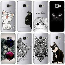 Cute Animal Cat Silicone Case Cover For Samsung Galaxy Note 8 S8 S8 Plus S7 Edge
