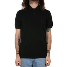 Fred Perry Twin Tipped Polo Shirt - Hunting Green / Black Oxford