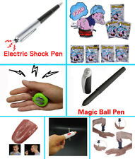Joke Prank Pen Hand Electric Shock Toy Gift Fake Knife Tongue Stink Fart Bomb