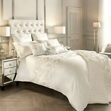 Kylie Minogue Bedding ADELE Oyster / Ivory Duvet / Quilt Cover, Full Bedding Set