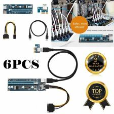 0.6m USB3.0 PCI-E Express 1x to16x Extender Riser Board Card Adapter SATA Cable