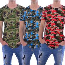 Red Bridge Jeans M 1118 T-Shirt Redbridge Herren Männer Men Camouflage Longshirt