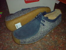 Clarks Originals NATALIE Harris Tweed Azul Marino / Crema Combi GB 7,8, 9,10, 11