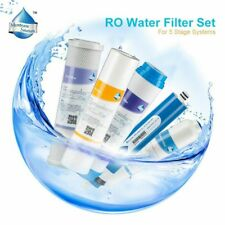 5 Stage Reverse Osmosis Drinking Water System 50GPD RO Filters Individually Seal