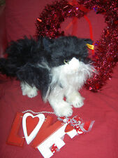 Absolutely gorgeous, Steiff button-in-ear, Possy Norwegian Forest Cat, all tags