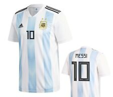 ARGENTINA MAGLIA MESSI ADULTO e BAMBINO WORLD CUP 2018 ADIDAS -HOME SHIRT JERSEY