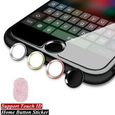 Universal Home Button Sticker For iPhone 8 7 6 5 iPad Air Fingerprint Touch ID