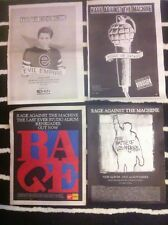 RAGE AGAINST THE MACHINE - ORIGINAL ADVERT / SMALL POSTER evil empire renegades