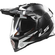 Casco Moto Cross-Enduro Ls2 404362112 MX436 Pioneer Nero