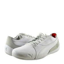 Men's Shoes PUMA SF Drift Cat Leather Lace Up Sneaker 30609602 White Grey *