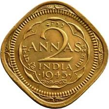 India 2 Anna MONEDAS Indio Asiático