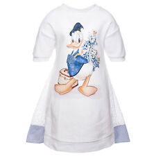 Monnalisa Vestido DONALD DUCK S. GALLO TALLA 98,104, 110,116, 122,128 SO 18