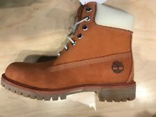 """Timberland 6"""" Inches PRM Waterproof Boots New Gourd Orange A100DH39 Men"""