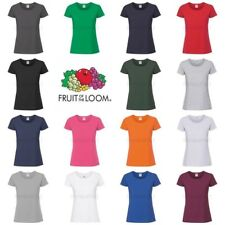 Fruit of the Loom Womens Lady-Fit Ringspun Premium T-Shirt