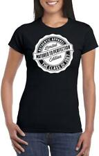 51st REGALO COMPLEANNO 1967 Matured to Perfection donna gadget T SHIRT