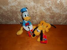Disney Applause Mickey for Kids Donald Duck and Pluto Plush