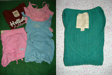 HOLLISTER by Abercrombie and Fitch canotta top t shirt shorts pullover donna M L