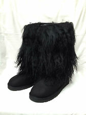 Authentic BNIB UGG Australia Tall Cuff Boots Black (UK 3.5; US 5)  RRP £340