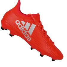 Adidas X 16.3 FG Homme Rouge Chaussures Football avec crampons NEUF