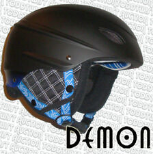Demon - FIRMA monstruo - Casco snowboard - Negro