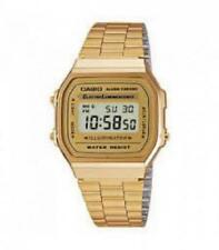 Casio Retro Dorado Digital Cuadrado Army
