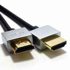Cable HDMI V 1.4 ULTRAFINA Audio Vídeo 4k 2160p Ethernet Cable Hdtv Plasma 3d