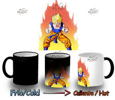 tazza MAGICA DRAGON BALL GOKU SUPER SAIYAN MUG HEAT REACTIVE tazza tasse magic