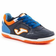 Joma Top Flex JR 703 Marino Laces Interior Zapatillas de Naranja Azul Niños