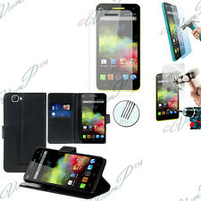 Portfolio Di Custodia Cover Guscio Video Falda Wiko Rainbow 4G+ Film