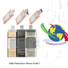 Dispositivo Memoria chiavetta LIGHTING USB micro Ipad iPhone 8 X 7 7Plus 6 6S