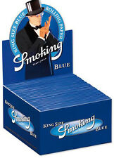 Smoking azul king-size Azul KS Papeles Papel de fumar BOX SMK Rolling Papel