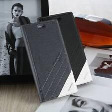Business PU Leather Flip Magnetic Wallet Phone Case Cover For Samsung Galaxy