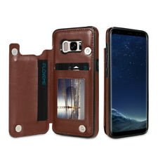 High Quality PU Leather Flip Wallet Card Phone Case Cover For Samsung Galaxy