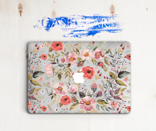 Floral Hard Macbook Case Air 11 Flower Laptop Cover Pro 13 15 Shell Retina 2017