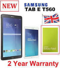 New Samsung Galaxy Tab E 9.6 Inch SM T560 8GB WiFi Tablet ( BOXED + WARRANTY )