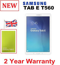 New Samsung Galaxy Tab E T560 White 9.6 Inch 8GB WiFi Tablet sm-t560 / WARRANTY