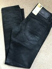 "G-STAR RAW COBLER SWITCH ""3301 LOW TAPERED"" FIT JEANS - 30"" x 34"" - NEW & TAGS"